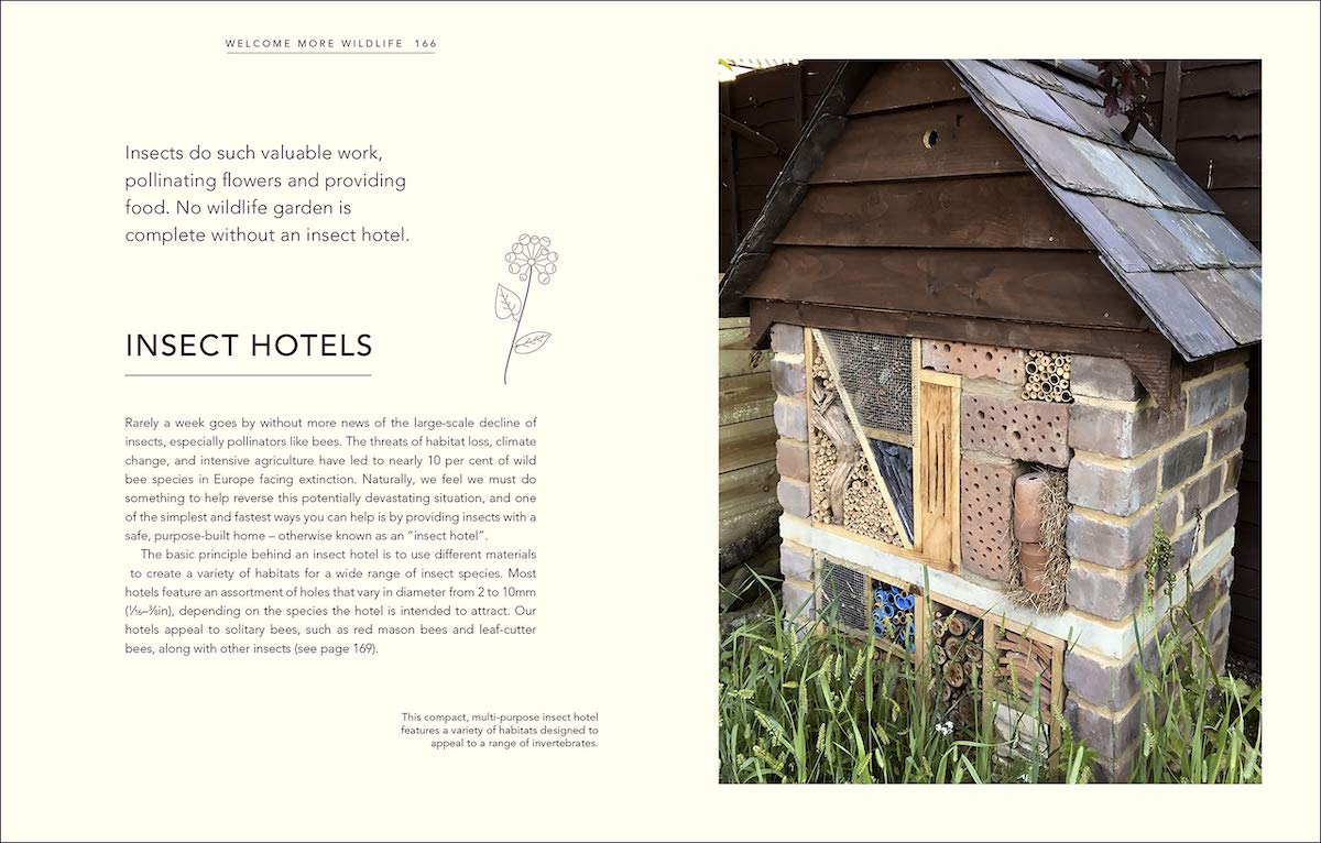 Wild Your Garden page preview: Insect Hotels